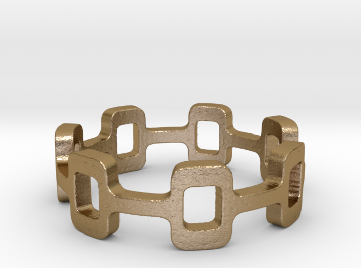 Ipa stack Ring Size 7 3d printed
