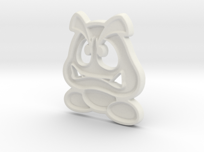 Paper Goomba 3d printed