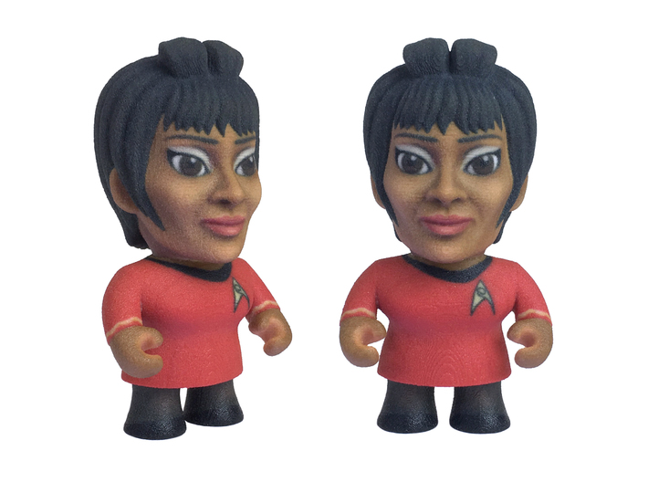 Uhura Star Trek Caricature 3d printed Uhura Star Trek Caricature