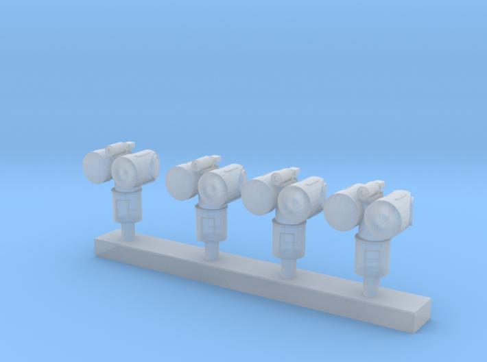 1:200 Scale Mk 95 NSSM Directors (4x) 3d printed