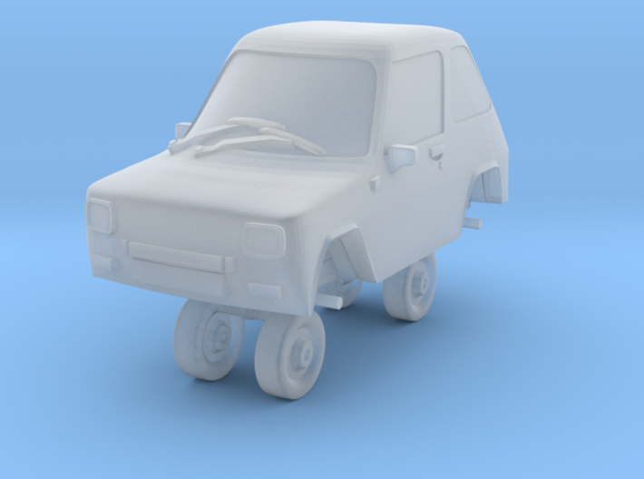 1/87 Scale Enfield 8000 3d printed