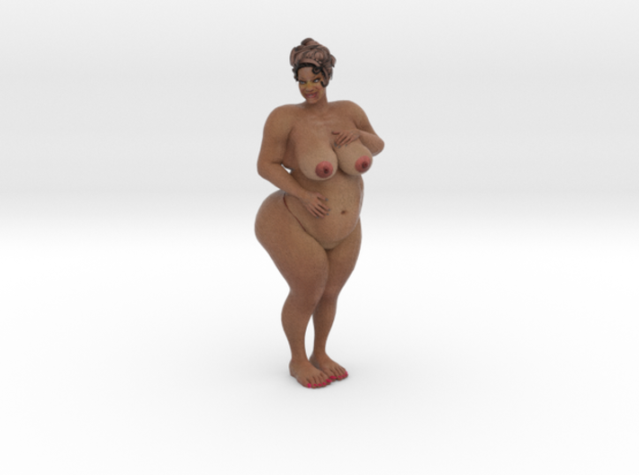 BBW Nude Figurine (small) 3d printed