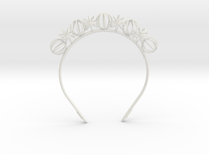 Sphere headband 3d printed