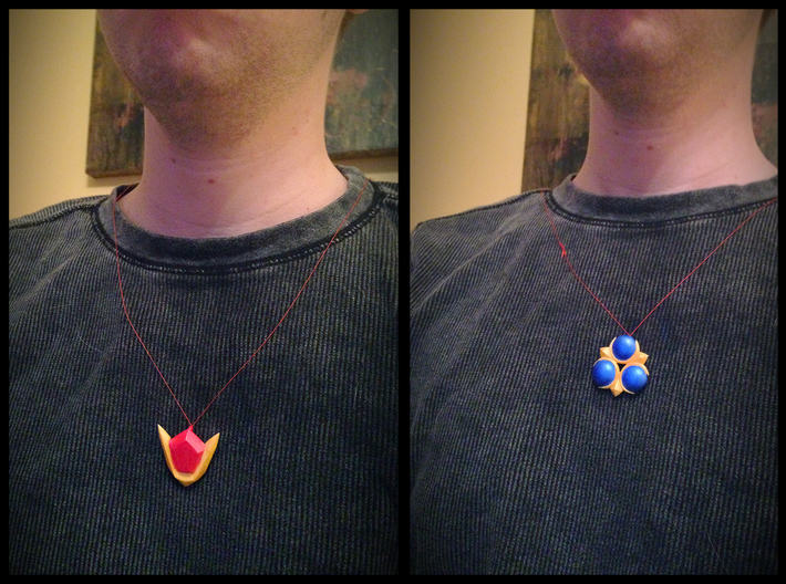 Spiritual Stones 3d printed All 3 stones are necklace friendly.