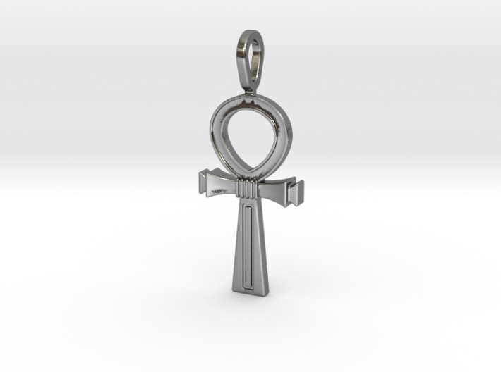 Ankh Cross Pendant 3d printed