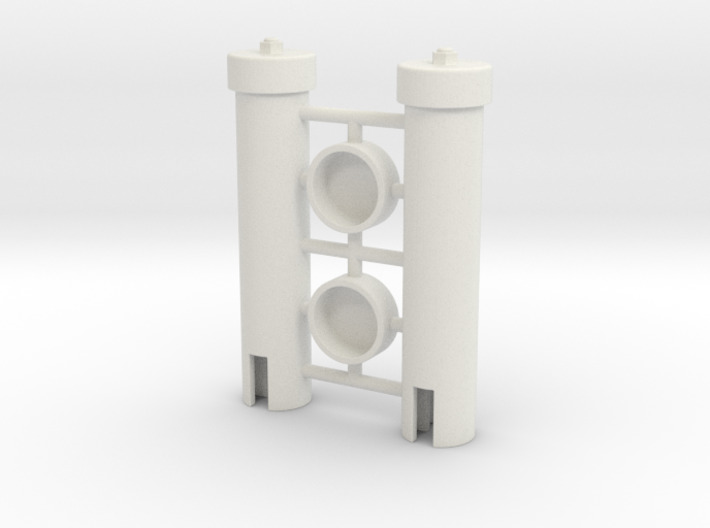 Power Cell Cylinders Pair 3d printed