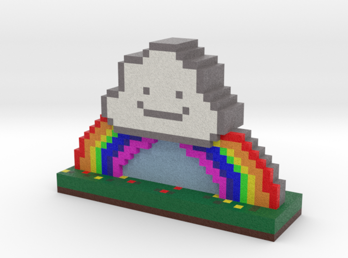 Rainbows and Thunderstorms 3d printed