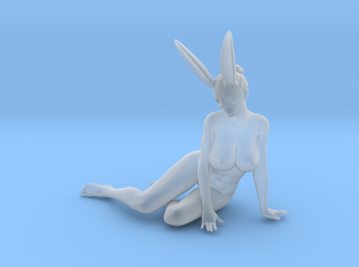 Bunny lady 011 1/24 3d printed