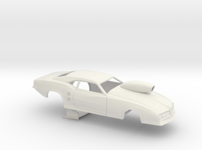 1/25 68 Firebird Pro Mod Small Wheelwell w Scoop 3d printed