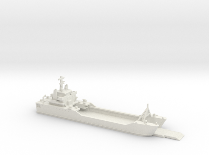 1/700 Scale Besson class LSV Ramp Down 3d printed