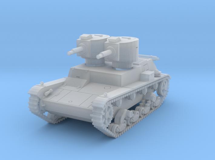 PV140B 7TP Dual Turret (1/100) 3d printed