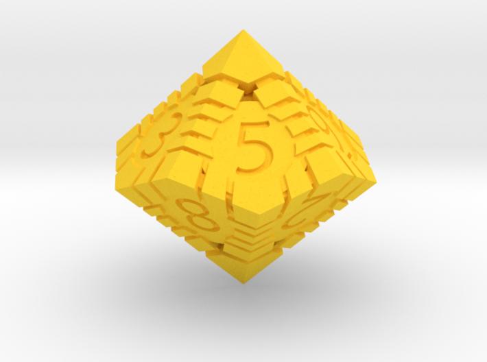 D10 - Andrew Bell 3d - Geometric Design 1 3d printed