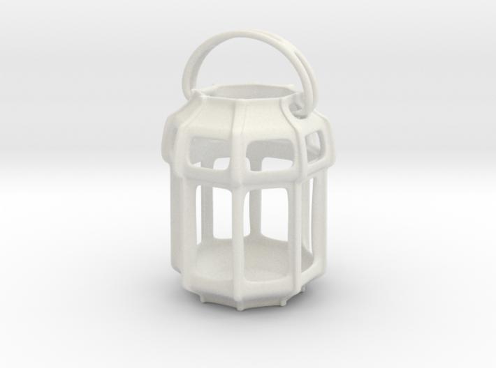 Lantern Octagon Oriental: Miniature 3d printed