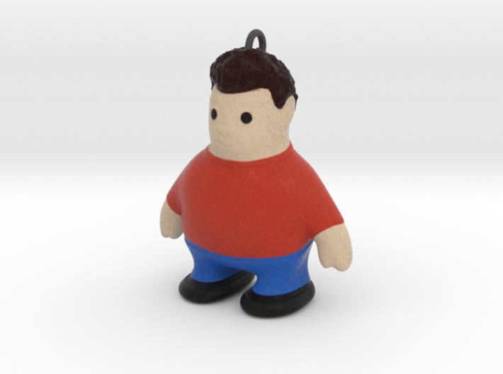 Keychain_FatBoy 3d printed