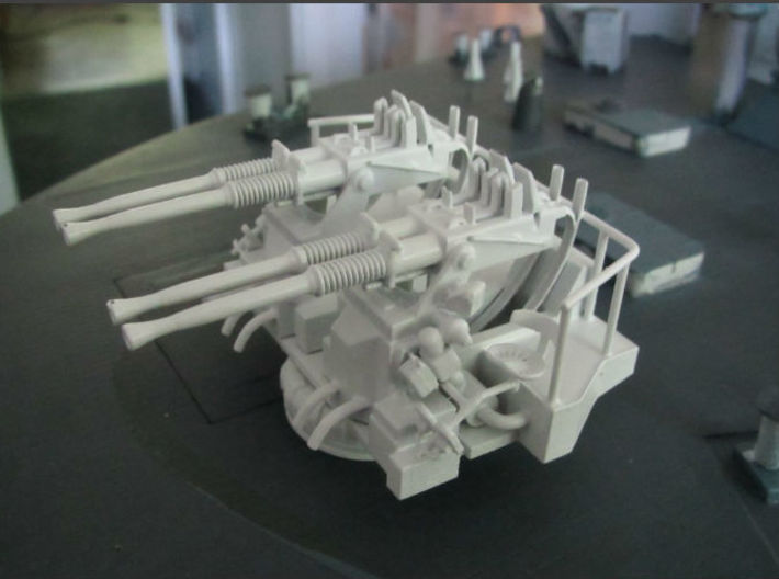 1/48 40mm Bofors Quad Mount 3d printed