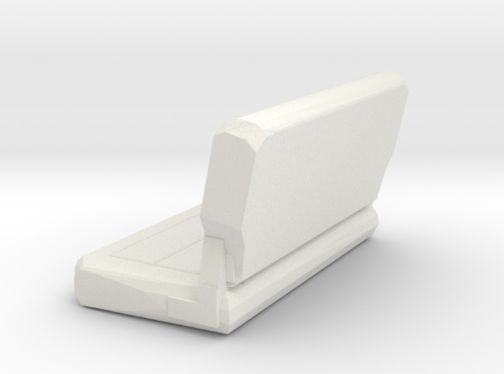 Jeep Rear Seat 3d printed
