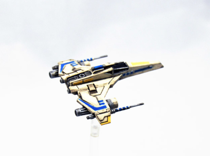 E-Wing Variant - Tri-Cannon 3pack 1/270 3d printed