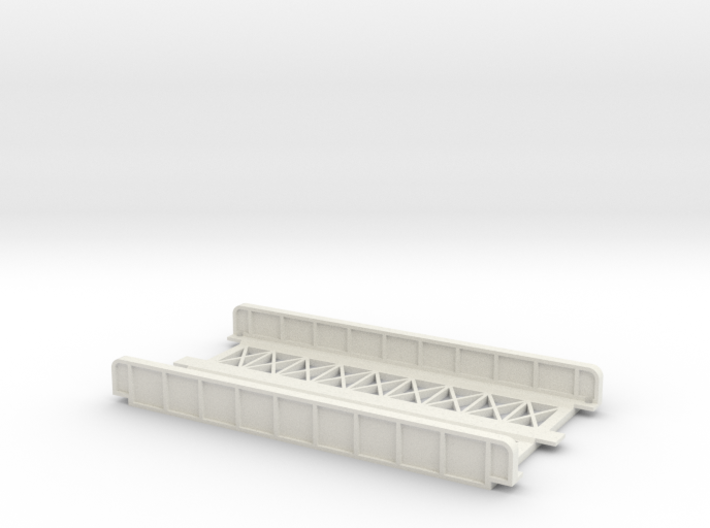 STRAIGHT 110mm DOUBLE TRACK VIADUCT 3d printed