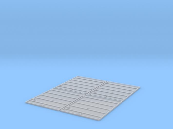 TT Scale 8' Superior Doors 3d printed
