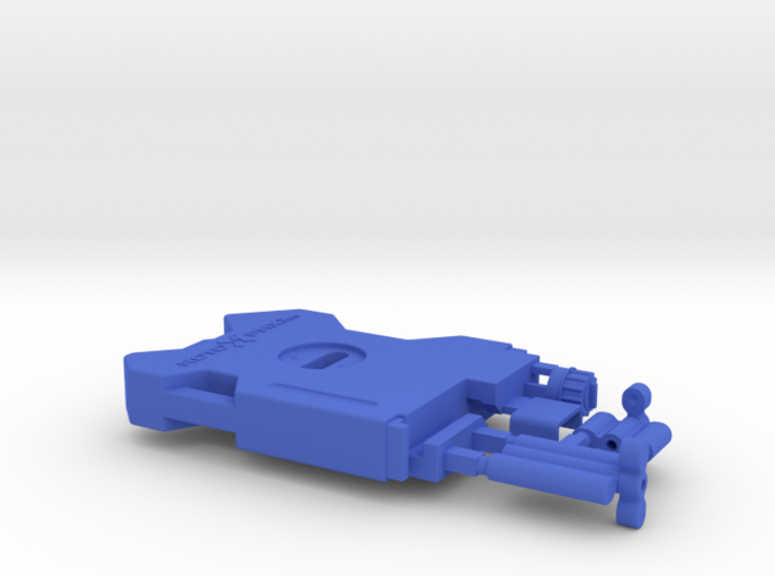 AJ10041 RotopaX 2 Gallon Fuel Pack - BLUE 3d printed