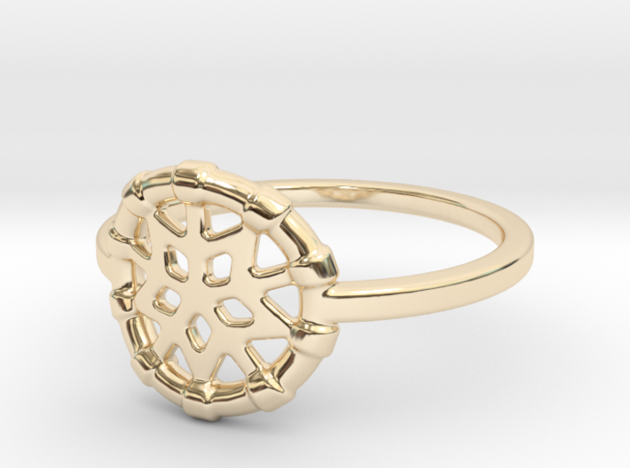 Dreamcatcher Ring 3d printed