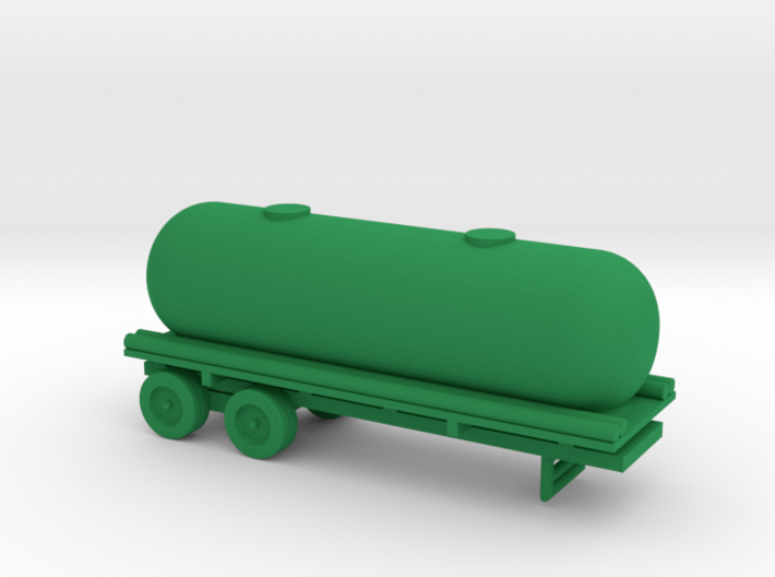 1/110 Scale Tank Trailer 3d printed