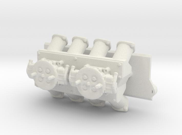 SBC Dual 1050 Intake 1/12 3d printed