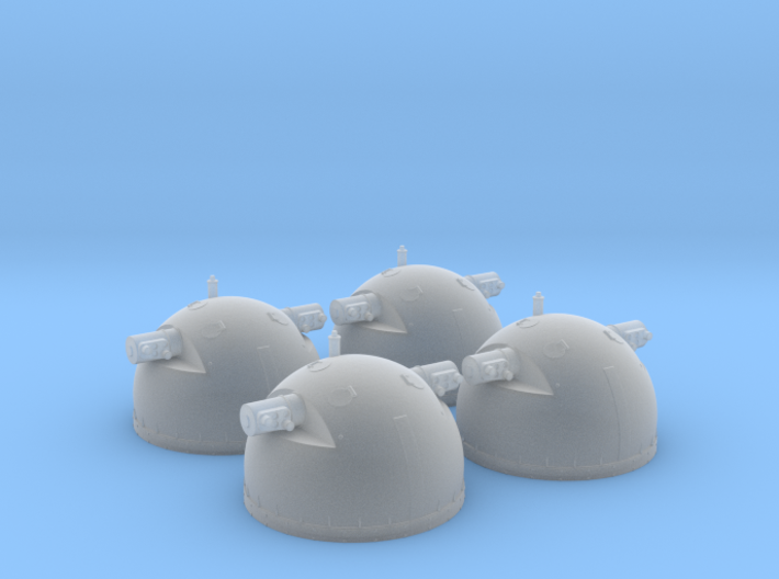 1/100 DKM SL-8 Rangefinders (set of 4) 3d printed