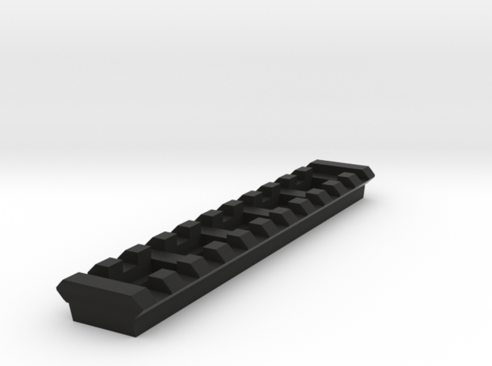 11 Slots Rail (Pre-Drilled) 3d printed