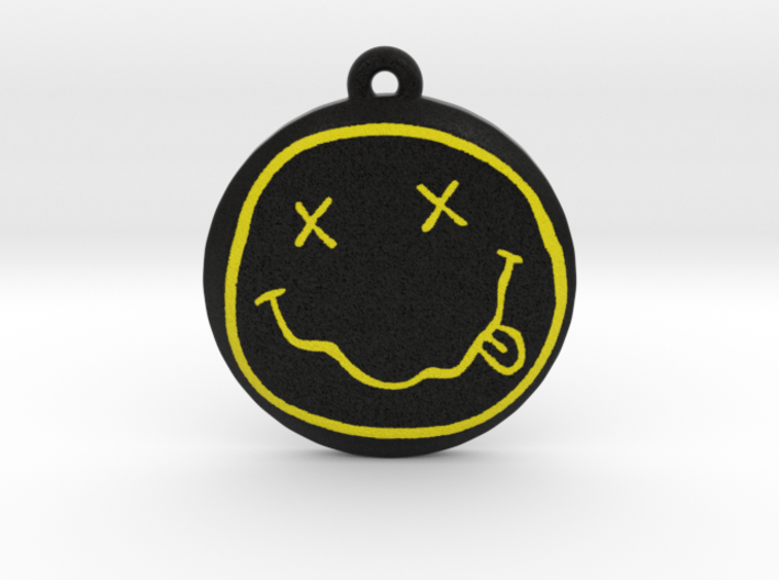 Nirvana Logo Pendant / Ornament 3d printed