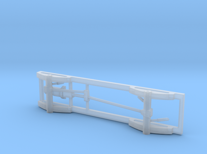 1/87 4x4 Pick Up Truck Frame 3d printed