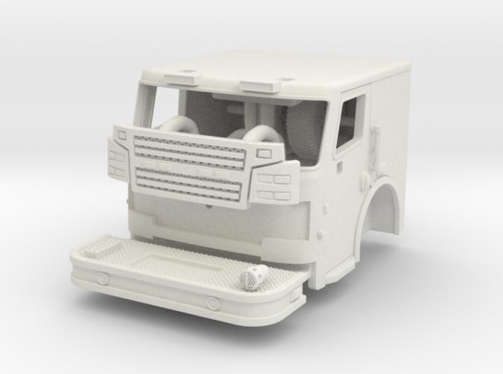 1/64 Rosenbauer 2 man cab 3d printed