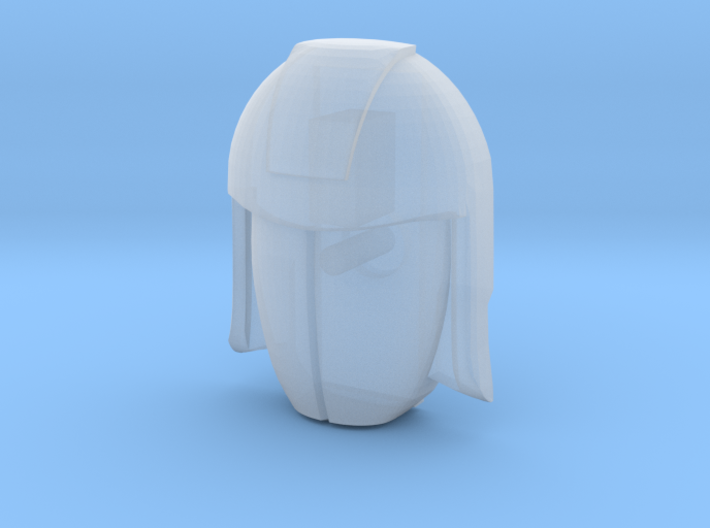 Cobra Commander Face (Titans Return) 3d printed