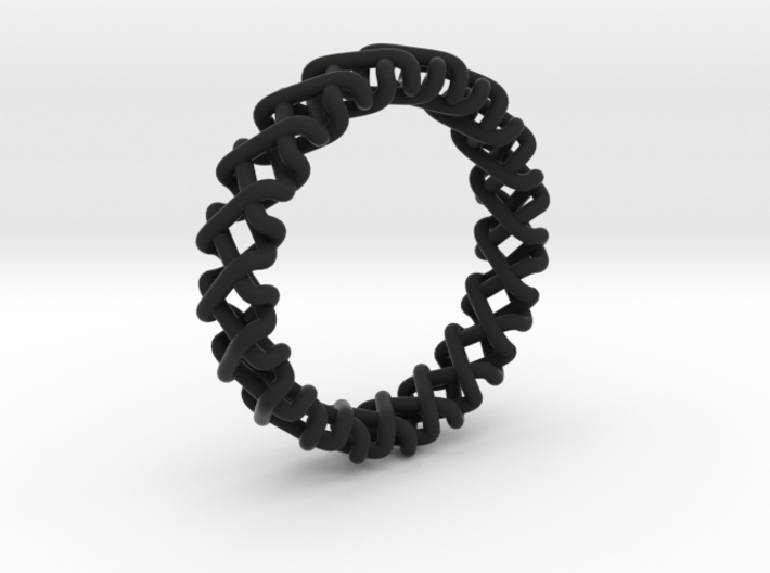 Coma Ring 3d printed