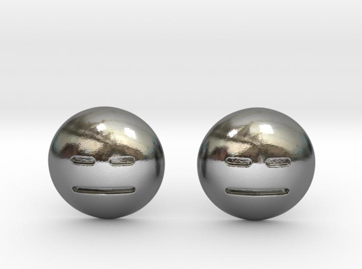 Expressionless Emoji 3d printed