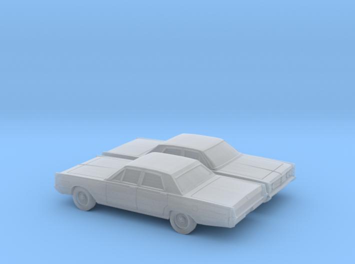 1/160 2X 1966 Mercury Monterey Sedan 3d printed