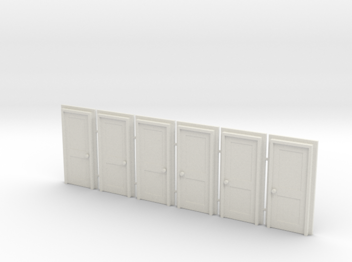 Door Type 4 - 810 X 2000 X 6 3d printed
