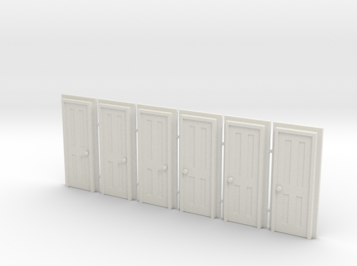 Door Type 5 - 660 X 2000 X 6 3d printed