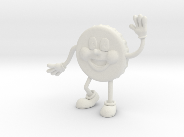 Fallout 4 Nuka Cola Cappy figure 3d printed