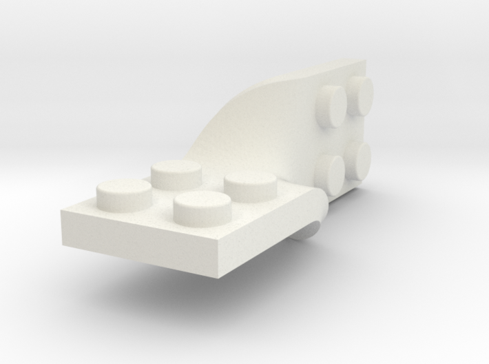 Custom Lego Twist Plate EthanC 3d printed