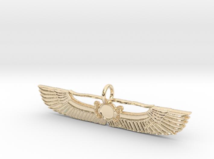 Sky Serps Pendant 3d printed