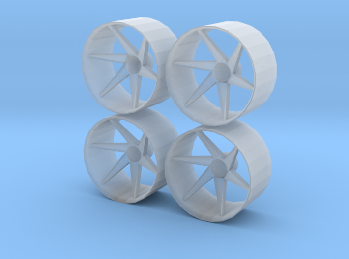 1/24 1/25 Wheel Type 1 3d printed