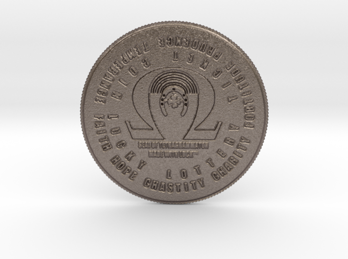 Epiphany Coin of 7 Virtues God's Ring Vision II 3d printed