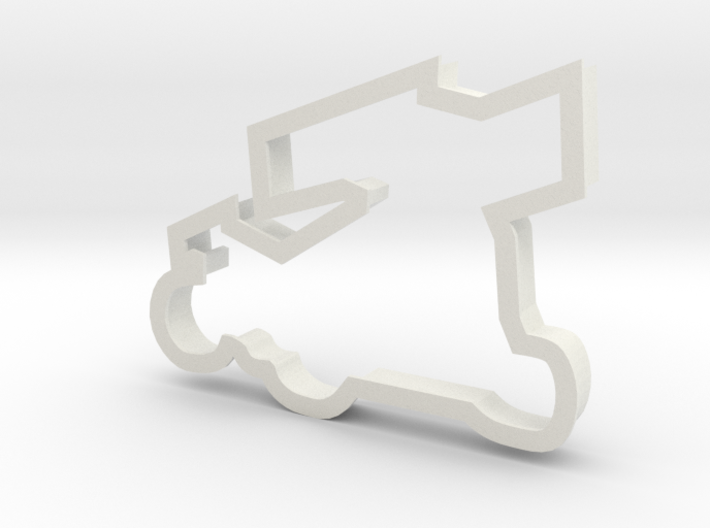 Sprint Car Cookie Cutter 3d printed