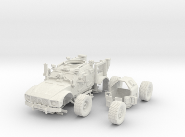 1/72 MATV (Open) Includes Turret and wheels 3d printed