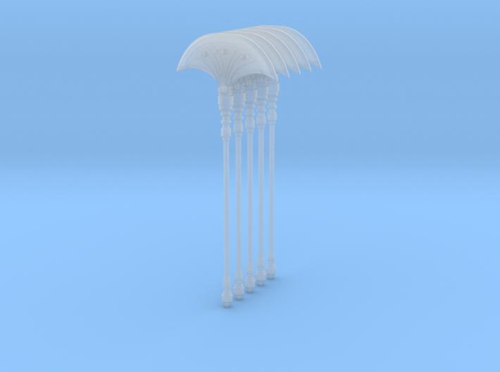 Fan Axe Single 004a 5up 3d printed