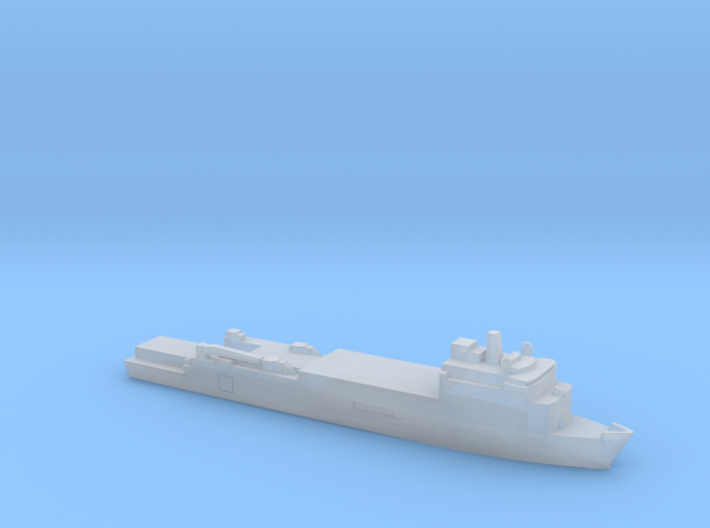 Foudre-Class LPD, 1/6000 3d printed