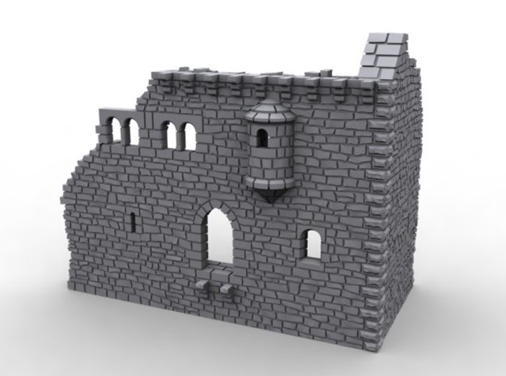 NF51 Ruined Castle 3d printed