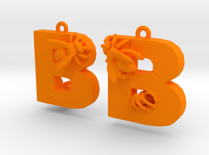 B Is For Bees 3d printed