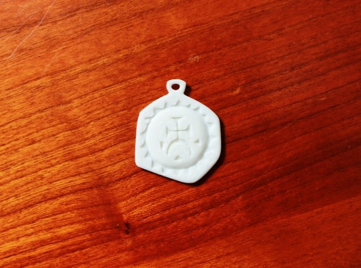 Agrippa's Charm 3d printed